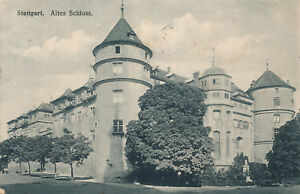 1910 Altes Schloss 19734 Belebende Durchblutung Und Schmerzen Stoppen Vorsichtig Ak Stuttgart k
