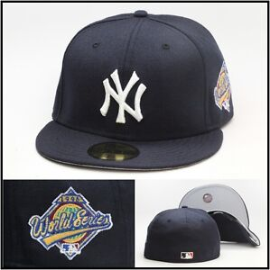 97f2fc3342f New Era New York Yankees Fitted Hat 1996 World Series Side Patch ...