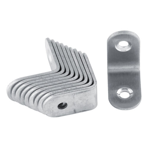 Home Improvement 10X Stainless Steel Right Angle Bracket Corner ...