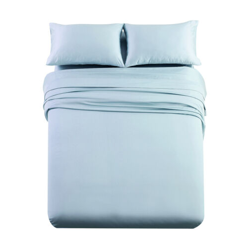 Cotton Bed Sheet Set Thick Heavy Solid, 1000 Thread Count Cotton Queen Bed Sheets