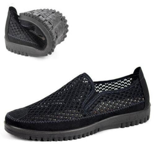Homme Mesh Net tissu respirant Slip On Sport Sandales Chaussures De Loisirs Sneaker Sz11.5