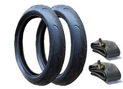 """Vibe Pram Inner Tubes Pack of 2 Size 12/"""" Phil /& Teds Verve 300x55"""