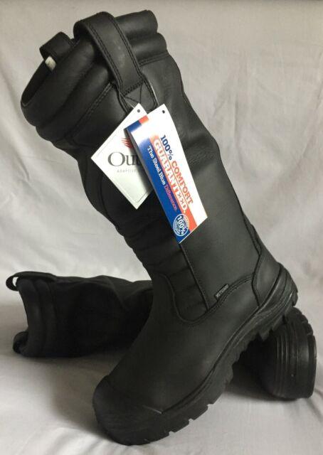 Steel Blue Size 9 Steel Toe Boot Mackay 370mm Pull On Waterproof Metguard Safety