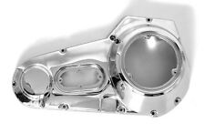 CHROME OUTER PRIMARY REPLACEMENT COVER WITH TAB FIT HARLEY FLH TOURING 70-84 NEW
