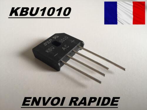 KBU1010 PONT DE DIODE 10A 1000V