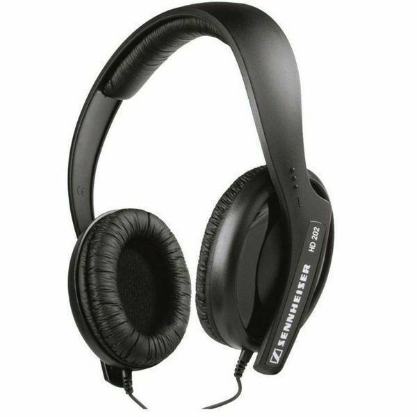 Sennheiser HD 202 II HD202II Professional Stereo DJ