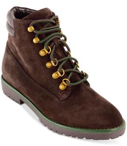 NEW Lauren Ralph Lauren Women's Mikelle Bootie Boots Dark Chocolate $139