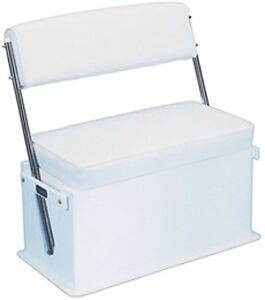 Wondrous Details About Todd Swingback Boat Seat 50 Quart 1758 18A Livewell Cooler Aluminum Uprights Inzonedesignstudio Interior Chair Design Inzonedesignstudiocom