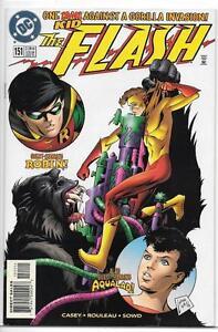 DC-Comics-The-Flash-1987-Series-151-NM-Robin-amp-Aqualad