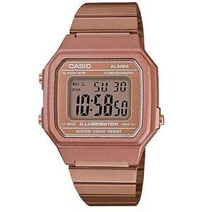 Casio-B650WC-5ADF-Retro-Digital-Square-Watch-Rose-Gold