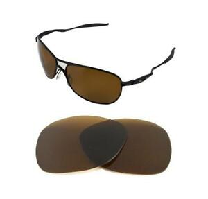 8056b098e8c Image is loading NEW-POLARIZED-BRONZE-REPLACEMENT-LENS-FOR-OAKLEY-CROSSHAIR-