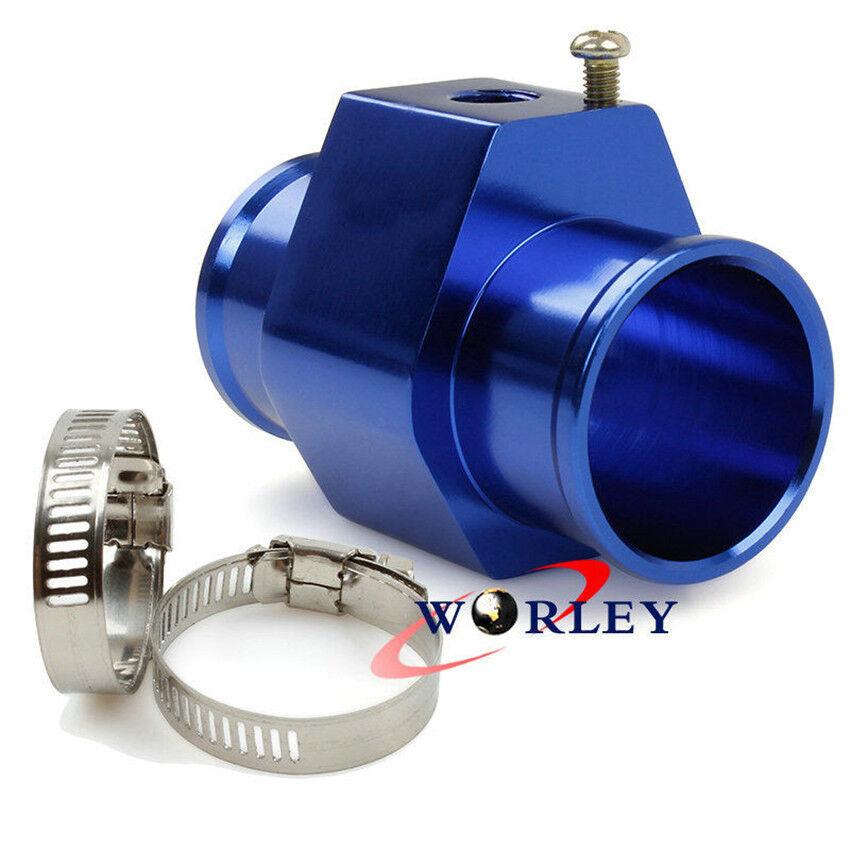 40mm Water Temp Temperature Joint Pipe Sensor Gauge Radiator Hose Adapter Lot