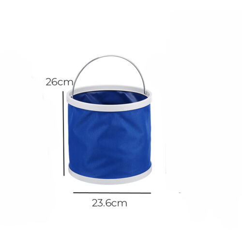 Details about  /Portable Folding Outdoor Collapsible Multifunctional Water Bucket Basin for