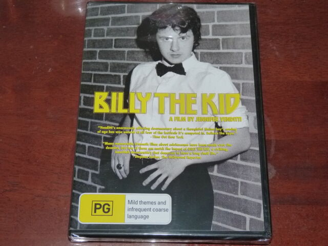 Billy The Kid DVD R4 Documentary OOP Jennifer Venditti