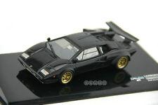 PALMA 1:43 Classic Lamborghini Countach LP400 Super Car Diecast Model Black