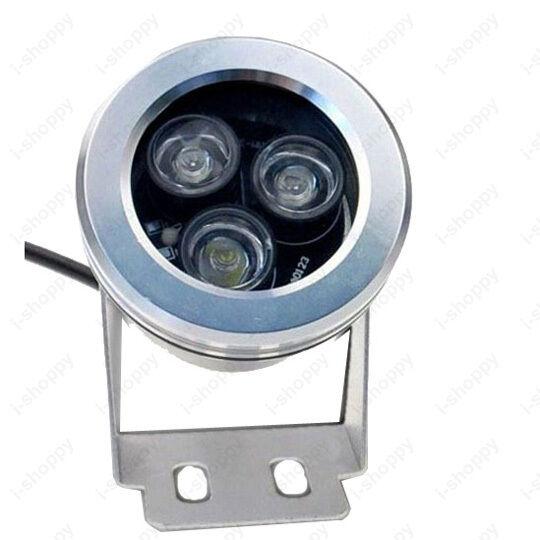 3W/9W LED Spot Flood Light Underwater Lamp Waterproof IP65 Fountain/Pond DC 12V