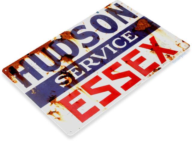 Hudson Essex Gas Oil Sign, Station, Garage, Auto Shop, Retro Tin Sign A722