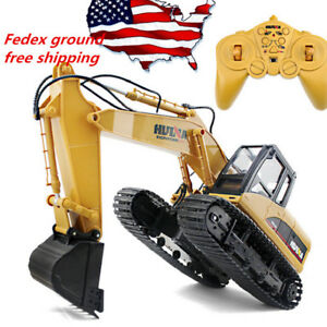 Remote-Control-Excavator-RC-Construction-Tractor-Vehicle-Truck-Toy-Digger-Car