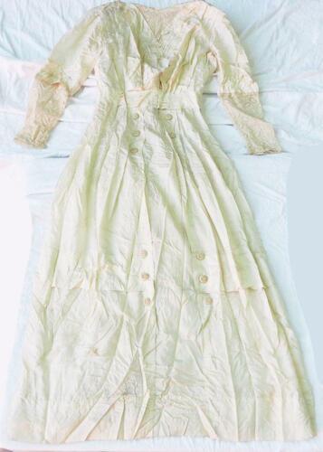 Antique Victorian Irish Wedding Dress