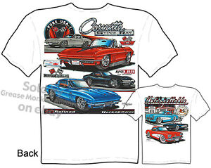 1963-1967-Stingray-T-shirt-55-56-57-64-65-66-Corvette-T-Shirt-Tee-M-L-XL-2XL-3XL