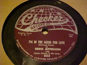 Checker-855-Jazz-78-Eddie-Jefferson-034-I-039-M-IN-THE-MOOD-FOR-LOVE-034-034-BILLIE-039-S-BOUNCE