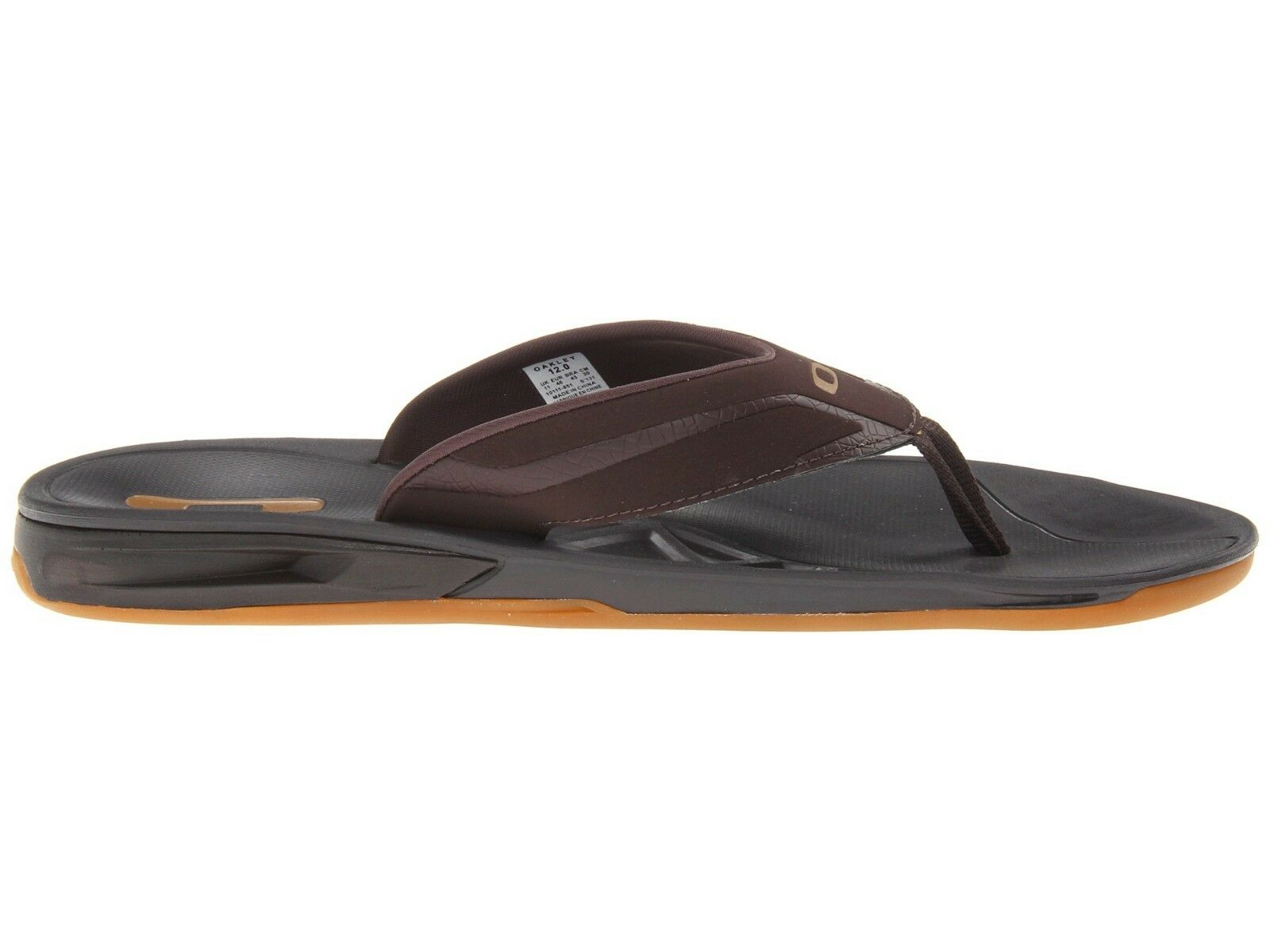 a1de4c8734da Oakley Mens HYPERCOIL Sandals Flip Flops 8-14 Brown 9 for sale online