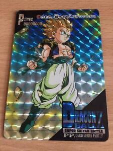Carte Dragon Ball Z DBZ PP Card Part 6 #212 Prisme AMADA 1990 MADE IN JAPAN