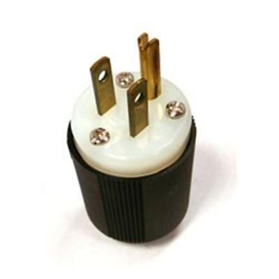 New Cooper INDUSTRIAL Straight Blade Plug NEMA 5-15 5-15P 15 Amp 125V 5266