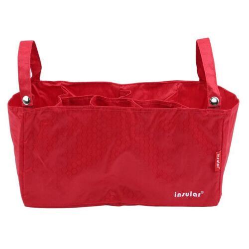 Fashion Baby Nappy Diaper Changing Bag Divider Organiser Storage Bag Basket LA