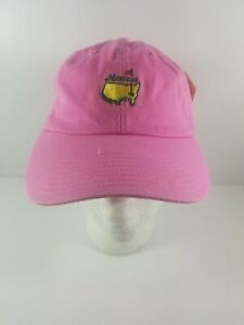 New-with-Tag-The-Masters-Pink-Strapback-Adjustable-Hat-Magnolia-Lane-Collection