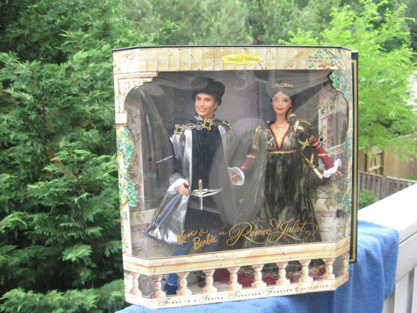 Ken Y Y Y Barbie Como Romeo Y Julieta 1997 1º en  juntos para siempre de la serie   el mejor servicio post-venta
