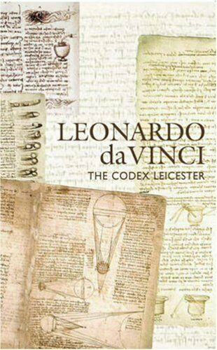Leonardo Da Vinci The Codex Leicester By Michael John Gorman Philip Cottrell Michael Ryan And Dorothy Cross 2007 Trade Paperback For Sale Online Ebay