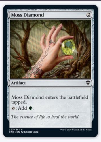 4x Moss Diamond Commander Legends NM Green Mana Rock Artifact Pauper Common EDH