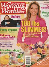 Woman's World Magazine Back Issue March 22, 2005 FREE SHIPPING