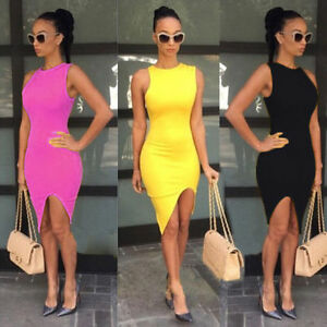 9fec20d78a9 Sexy Women s Summer Bandage Bodycon Lace Evening Party Cocktail ...