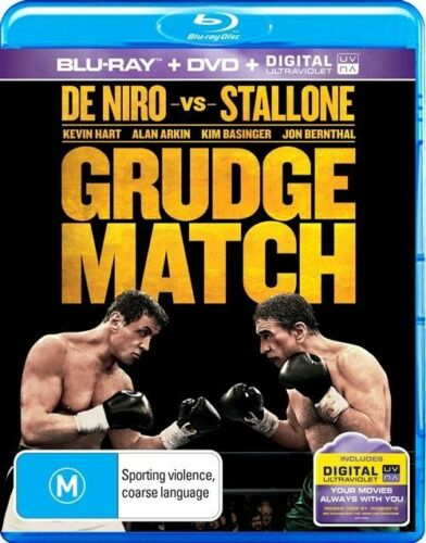 1 of 1 - Grudge Match (Blu-ray / DVD  2014, 2-Disc Set) NO UV BRAND NEW SEALED