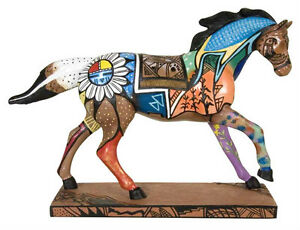 Trail-of-Painted-Ponies-INDIAN-SUMMER-FIGURINE-New-in-Box-Westland-1st-Edition