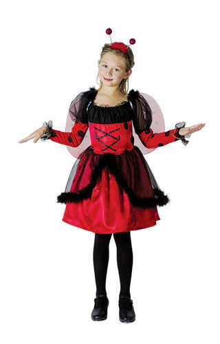 Ladybird Children Costume Fairy tale Book Week Day Fancy Dress Outfit