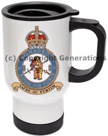 Royal de air force 671 Escadron tasse de Royal voyage 9d1f04