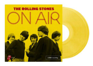 The-Rolling-Stones-On-Air-180g-2LP-Yellow-Vinyl