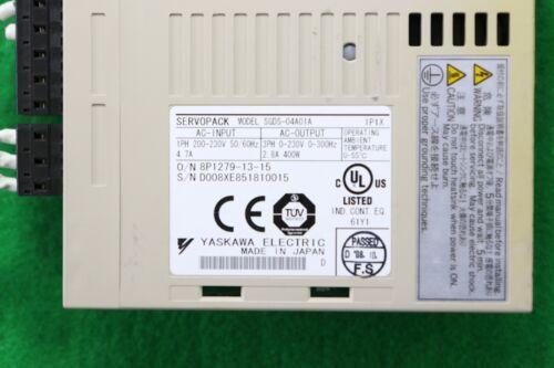 Business & Industrial YASKAWA Used SGDS-04A01A SERVOPACK Servo ...