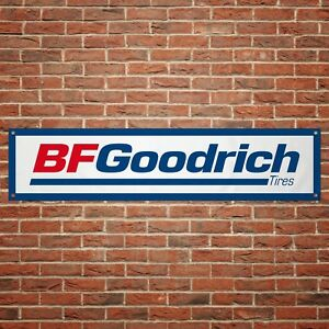 BF Goodrich Tyres Banner Garage Workshop PVC Sign Trackside Display Tires