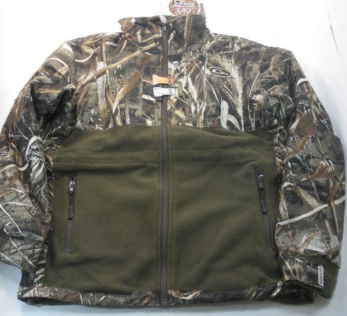 Drake Waterfowl DW3730-015-3 Damas Eqwader Full Zip Chaqueta Camisa Max5 LG 17751