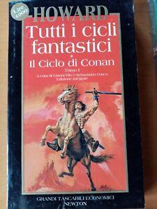 HOWARD-Tutti-i-cicli-fantastici-Il-Ciclo-di-Conan-libro-in-ottime-condizioni