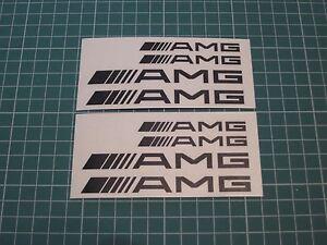 Set-of-8-AMG-Decal-sticker-vinyl-caliper-brake-custom-white-black-red