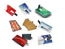 Stampa personalizzata USB MEMORY STICK CARD CREDITO STILE SLIM 2GB, 4GB, 8GB, 16GB