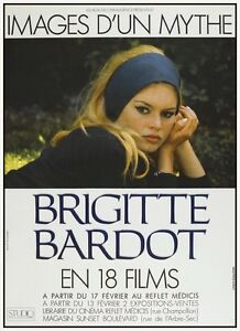 Details About Brigitte Bardot Poster French Film Festival Sexy 60s Mod Rare