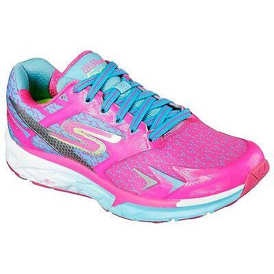 Skechers Go Run Forza Womens Running Shoe- 14105 - Hot Pink/Blue -Pick Size- NIB