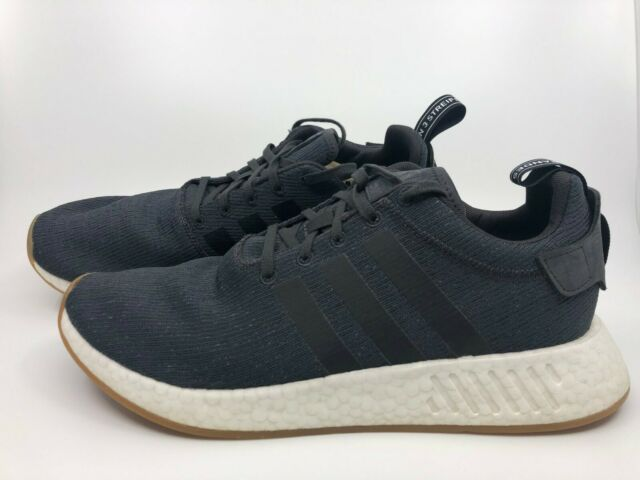 on sale 0e2e5 c6720 adidas NMD R2 Nomad Core Utility Black Trace Gargo By9917 Size 12