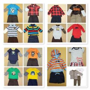 NEW-wholesale-LOT-10-sets-Mixed-baby-toddler-outfit-sets-BOY